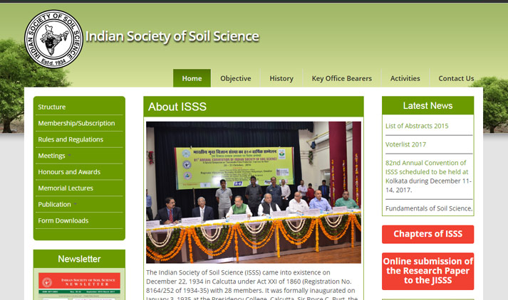 Indian Society of Soil Science